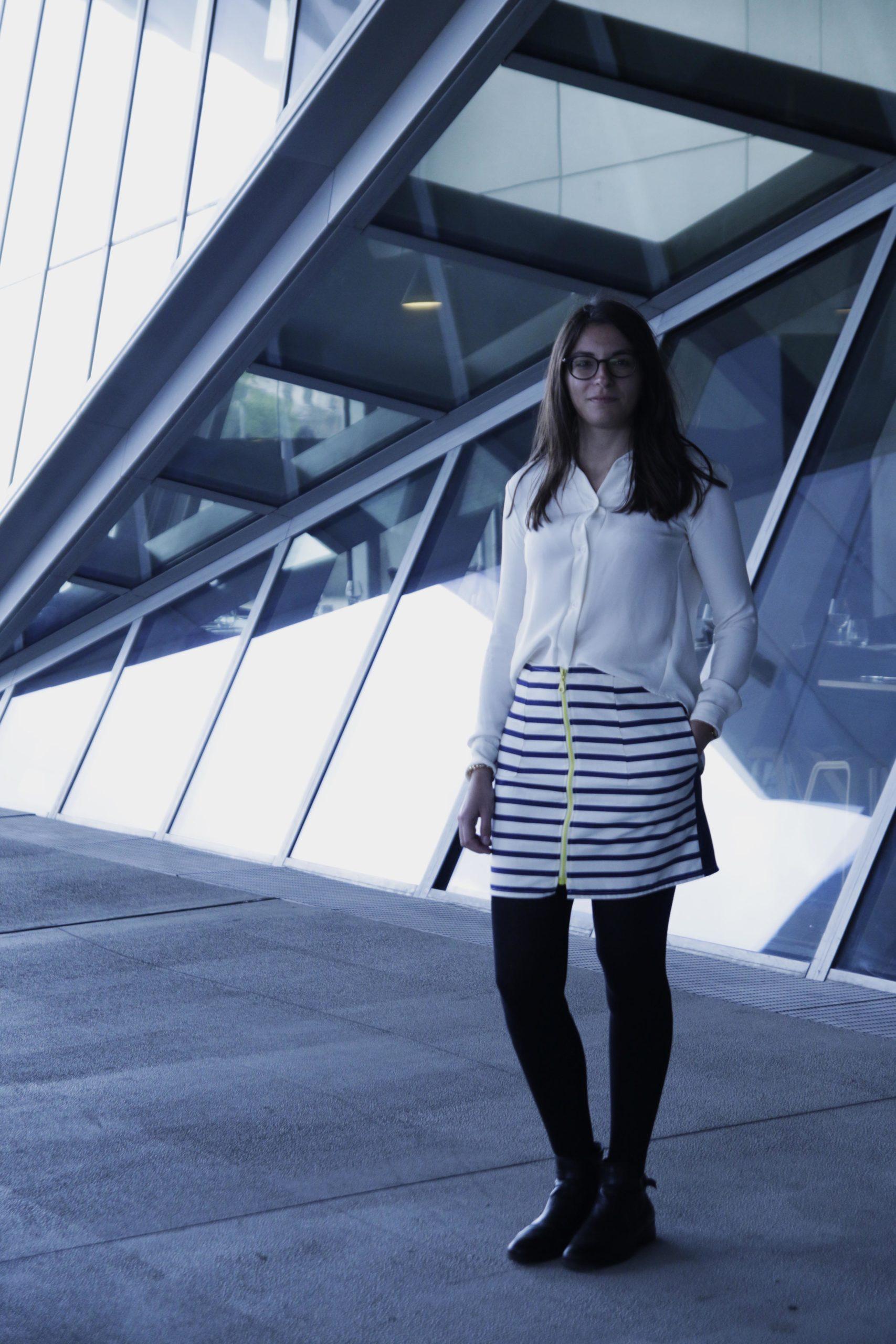 Alory mode éthique jupe réversible Lyon