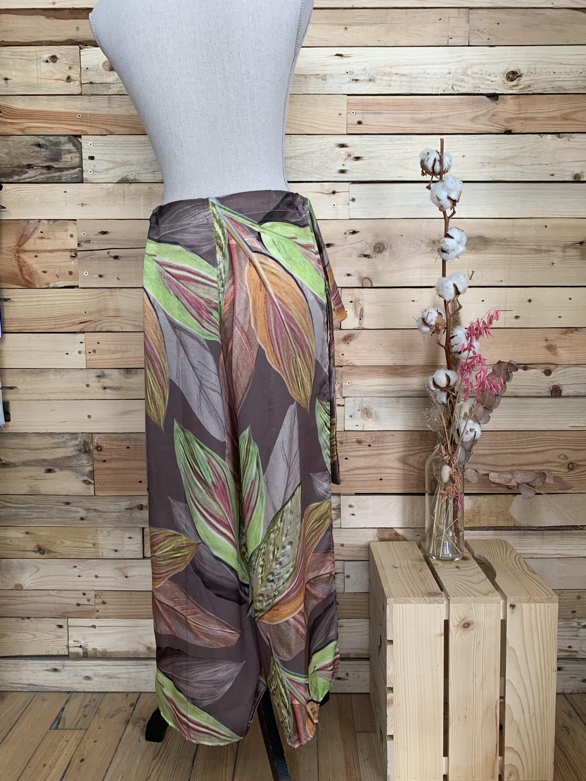 Pantalon coupe large fabriqué en France