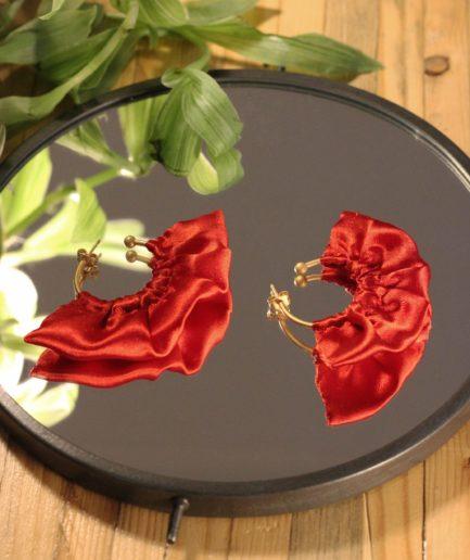 Boucles d'oreilles éthique responsable bijoux Lyon