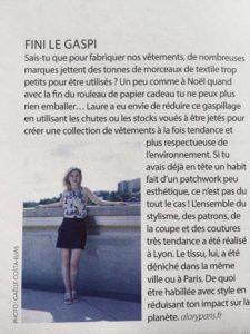 Alory Mode éthique artisanale et responsable Lyon